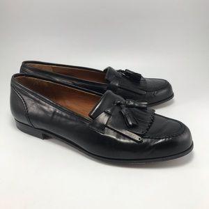 Ferragamo Sasa Nappa Calf Tassle Loafers